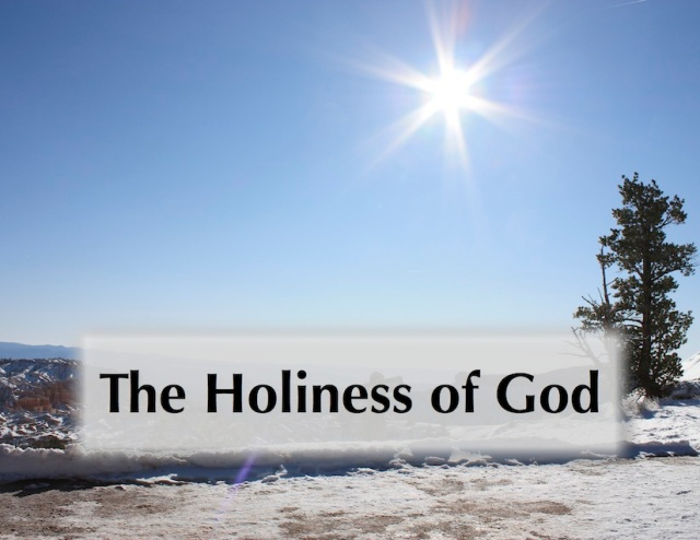The Holiness of God Large